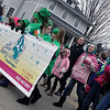 Jeff Krage — For the Kane County Chronicle<br /> Children from the 3rd Street Dance & Theatre Academy walk in Saturday's St. Patrick's Day parade in St. Charles.<br /> St. Charles 3/16/13