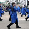 Jeff Krage — For the Kane County Chronicle<br /> The St. Charles North marching band performs during Saturday's St. Patrick's Day parade in St. Charles.<br /> St. Charles 3/16/13