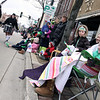 Jeff Krage — For the Kane County Chronicle<br /> People watch Saturday's St. Patrick's Day parade along Main Street in St. Charles.<br /> St. Charles 3/16/13