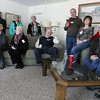 Jeff Krage – For the Kane County Chronicle<br /> Geneva residents listen to mayoral candidates discuss the issues during Saturday's mayoral forum at Kirkwood Homeowners Association.<br /> Geneva 3/23/13