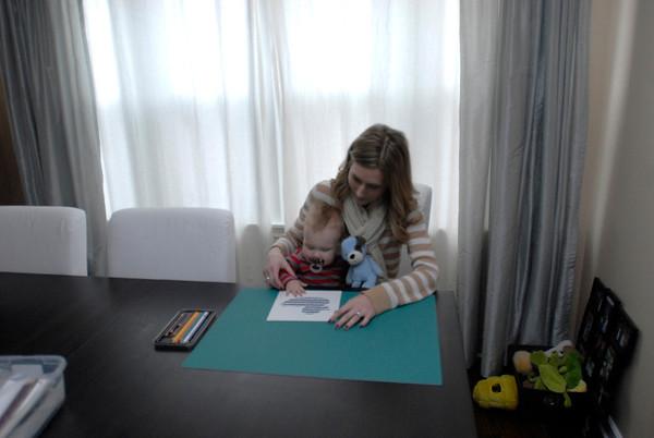 Children's artist Marie Lopez