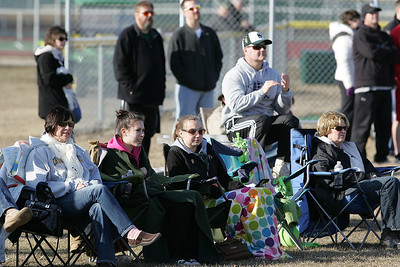 H. Rick Bamman - hbamman@shawmedia.com Crystal Lake South baseball fans brave the chill for the first game of the season agains Harlem Friday, March 29, 2013.