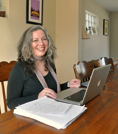 Local author Nyhan published