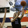 St. Charles North's Quinten Payne goes up for a shot during Friday's IHSA class 4A regional championship against Larkin at South Elgin High School. (Jeff Krage photo for the Kane County Chronicle)