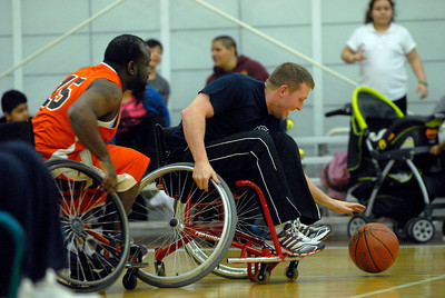 Wheelchair basketball in Cicero