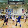 Mooseheart's Mangisto Deng (24) drives to the hoop against Newark's Matt Eike (5) at Somonauk High School in Somonauk, IL on Friday, February 28, 2014 (Sean King for Shaw Media)