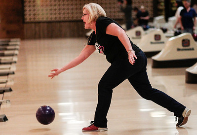 Kyle Grillot - kgrillot@shawmedia.com   Sue McArdle of Crystal Lake bowls Thursday night at Crystal Bowl during the Ladies Night of the Bowl for Kids' Sake fundraiser. This is the Big Brothers Big Sisters of McHenry County annual fundraiser to help children who face adversity. There are six more dates to bowl and raise money during the month of March. More information can be found at www.bbbsmchenry.org/bowl.
