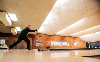 Kyle Grillot - kgrillot@shawmedia.com   Suzy Costigan of Crystal Lake reacts after bowling Thursday night at Crystal Bowl during the Ladies Night of the Bowl for Kids' Sake fundraiser. This is the Big Brothers Big Sisters of McHenry County annual fundraiser to help children who face adversity. There are six more dates to bowl and raise money during the month of March. More information can be found at www.bbbsmchenry.org/bowl.