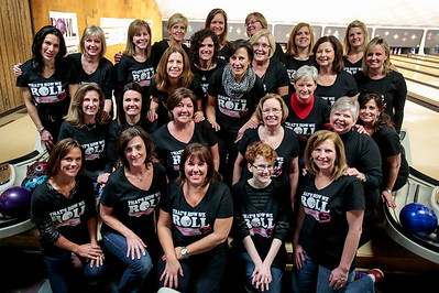 Kyle Grillot - kgrillot@shawmedia.com   The ladies pose for a picture Thursday night at Crystal Bowl during the Ladies Night of the Bowl for Kids' Sake fundraiser. This is the Big Brothers Big Sisters of McHenry County annual fundraiser to help children who face adversity. There are six more dates to bowl and raise money during the month of March. More information can be found at www.bbbsmchenry.org/bowl.
