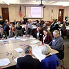 Kane County and other Illinois officials attend a Community Leadership Forum on Heroin Prevention Friday at the Kane County Government Center in Geneva.