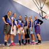 Geneva players (from left) Janie McCloughan, Abby Novak, Grace Loberg, Sidney Santos, Morgan Seberger and Michaela Loebel. The Geneva girls team plays Rolling Meadows in the 4A state semifinal today in Normal.