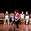 Grace Gerardi, a student at Rotolo Middle School in Batavia, spells a word during the 2014 Kane County Spelling Bee Thursday at the Pheasant Run Resort Main Stage in St. Charles.