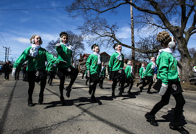 Sarah Nader- snader@shawmedia.com Dancers from the Rebecca McCarthy School of Dance perform during the annual St. Patrick's Day Parade in McHenry hosted by the Rotary Club of McHenry Sunday, March 16, 2014. The parade was held to create awareness of and show support for the volunteer-run organizations that exist in the McHenry area.