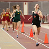 Allison Chmelik of St. Charles East competes in the 400 meter dash at Batavia High School during the girls indoor track and field championships March 22.