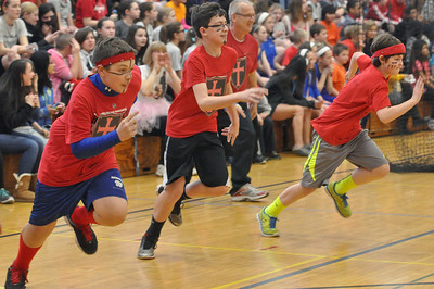 Franklin Middle School dodgeball tournament