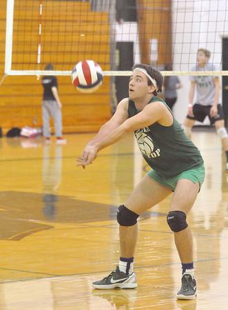 Glenbard West volleyball practice