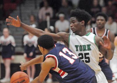 York 4A boys sectional basketball semifinal