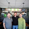 Salsa Verde owners (from left) Aydel Arechiga, Abraham Arechiga and Oswaldo Arechiga in the local franchise's fifth store, located at 107 N. Batavia Ave. in Batavia.