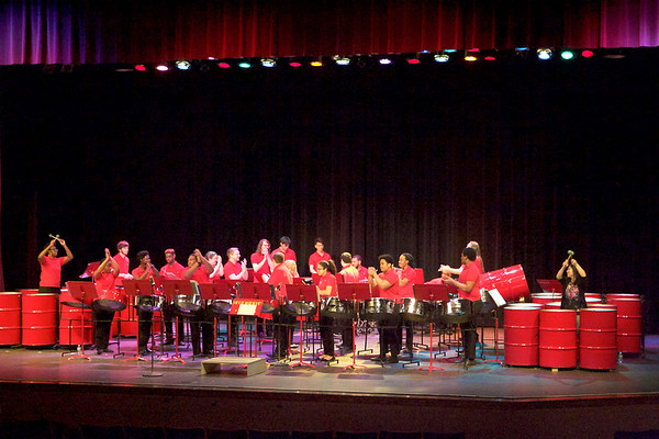 Northern Illinois University Steel Band takes the stage  on March 23 at the Norris Cultural Arts Center in St. Charles.