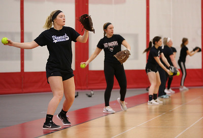 Huntley softball practices for 2019 season
