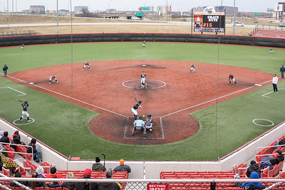 Huntley High School took the field against DeKalb Thursday, March 28, 2019 at the Chicago Bandits Stadium in Rosemont. Huntley gets the 4-0 shutout win with pitcher Briana Bower striking out 18. KKoontz – For Shaw Media