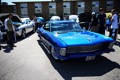 Daniel J. Murphy - dmurphy@shawmedia.com  John Incaudo of Cary pulls his 1964 1964 Buick Riviera out of a parking stall Friday May 11, 2012 at Cary-Grove High School in Cary. Cary-Grove students hosted a car show featuring cars owned by students, parents, and faculty members. Some of the vehicles were worked on by students in the Autos II class this past year.