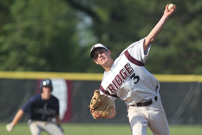 Mike Greene - mgreene@shawmedia.com Prairie Ridge's Tyler Tennant pitches with a runner on during a game against Cary-Grove Monday, May 14, 2012 in Crystal Lake. Tennant pitched a complete game giving up only three hits in Prairie Ridge's 2-0 victory over Cary-Grove.