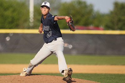 Mike Greene - mgreene@shawmedia.com Cary-Grove's Matt Dunlap pitches during a game against Prairie Ridge Monday, May 14, 2012 in Crystal Lake. Prairie Ridge won the game 2-0.