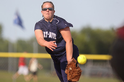 Mike Greene - mgreene@shawmedia.com Cary-Grove's Lindsay Efflandt pitches during a game against Prairie Ridge Monday, May 14, 2012 in Cary. Cary-Grove won the game 1-0.