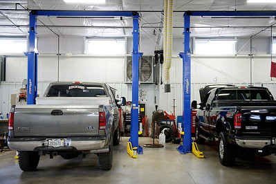 Daniel J. Murphy - dmurphy@shawmedia.com  The new service bays Thursday May 17, 2012 at Harvard Ford in Harvard. Harvard Ford recently expanded its service department, which now includes drive-through lane for customers.