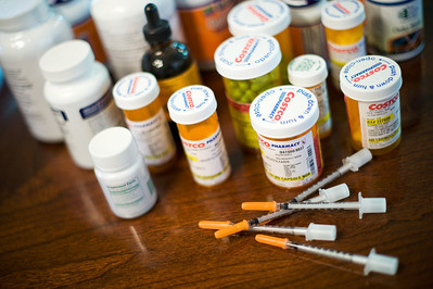 Daniel J. Murphy - dmurphy@shawmedia.com  Judy Schultz takes a number of medications weekly to help deal with her Lyme disease.