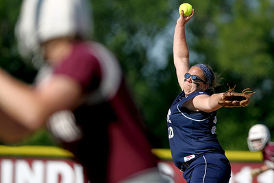 Sarah Nader - snader@shawmedia.com Cary-Grove's Lindsay Efflandt pitched during Monday's game against Marengo on May, 21, 2012. Marengo won, 1-0.