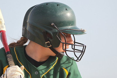 Mike Greene - mgreene@shawmedia.com Crystal Lake South's Hailie Massie prepares for the pitch while batting during the Class 4A Regional Semifinals against Jacobs Wednesday, May 23, 2012 in Huntley. Jacobs won the game 4-0 to advance to the regional finals Saturday.