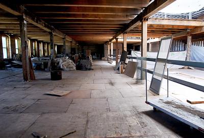 Sarah Nader - snader@shawmedia.com New studio spaces under renovation at the Starline Factory on Monday, June 4, 2012.