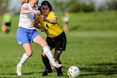 Johnsburg at Harvard Girls Soccer