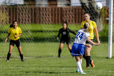 Johnsburg at Harvard Girls Soccer