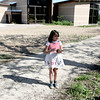 "Azul Canon, 8, a trained ""turtle wrangler"", holds a turtle outside Hickory Knolls Discovery Center in St. Charles."