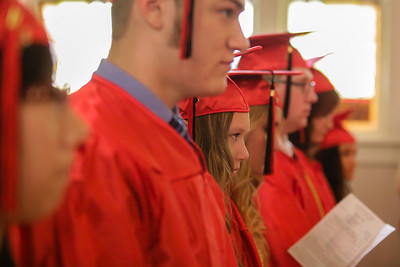 Faith Lutheran High School commencment ceremony of 2013.