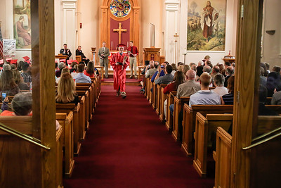 Faith Lutheran High School commencment ceremony of 2013.