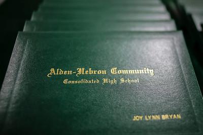 2013 Alden-Hebron High School Commencment