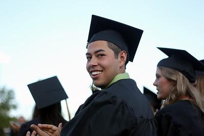 Sarah Nader - snader@shawmedia.com Graduate Horacio Marquez Jr. during Harvard High School's 2013 Commencement on Tuesday, May 21, 2013.