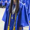 Graduate Alicia Casacchia smiles as she makes her way to the stage to accept her diploma during commencement at Sears Centre in Hoffman Estates, IL on Sunday, May 26, 2013 (Sean King for Shaw Media)