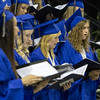"St. Charles Senior Choir Members sing ""For Just Alittle More"" during commencement at Sears Centre in Hoffman Estates, IL on Sunday, May 26, 2013 (Sean King for Shaw Media)"