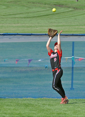 Downers Grove North-Benet softball playoff