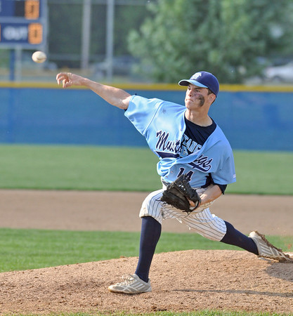 Downers Grove North-South baseball playoff