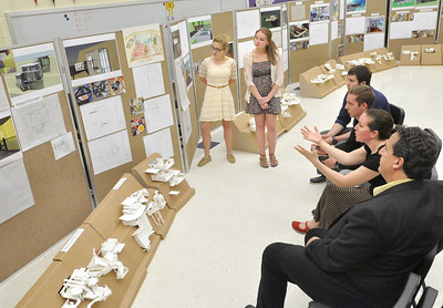 Downers Grove North architecture review
