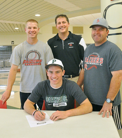 Sramek signs letter of intent