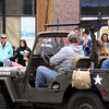 Jeff Krage – For Shaw Media<br /> People watch as an Army vehicle heads into downtown Batavia during Sunday's Loyalty Day Parade.<br /> Batavia 5/4/14