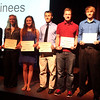 Chronicle Achievement Program award winners for the month of January were honored during a ceremony Wednesday at the Fox Valley Repertory in St. Charles. The CAP awards are sponsored by the Kane County Chronicle and KCT Credit Union.