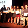 Chronicle Achievement Program award winners for the month of October were honored during a ceremony Wednesday at the Fox Valley Repertory in St. Charles. The CAP awards are sponsored by the Kane County Chronicle and KCT Credit Union.
